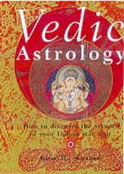 Cover of: Vedic Astrology by Komilla Sutton