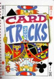 Cover of: Card Tricks (Mad Jack Books) | Peter Eldin