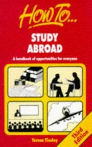 Cover of: How to Study Abroad | Teresa Tinsley