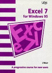 Cover of: Excel 7 (Software Guide S.) | J. Muir