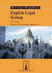 Cover of: English Legal System Revision Workbook | Vickneswaren Krishnan