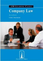 Cover of: Company Law (150 Leading Cases) | Chris Shepherd