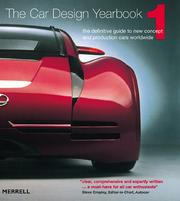 Cover of: Car Design Yearbook 01 | Stephen Newbury