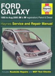 Cover of: Ford Galaxy Petrol and Diesel Service and Repair Manual | Martynn Randall
