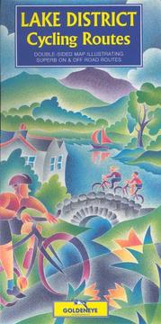 Cover of: Lake District Cycling Map | A.L. Churcher
