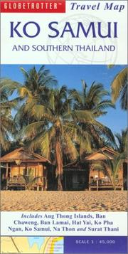 Cover of: Ko Samui and Southern Islands Travel Map | Globetrotter