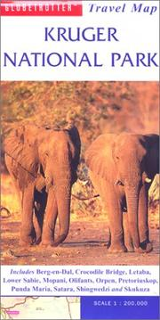 Cover of: Kruger National Park Travel Map | Globetrotter