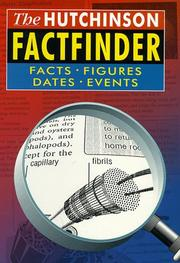 Cover of: The Hutchinson Factfinder (Helicon General Encyclopedias) | Helicon Books