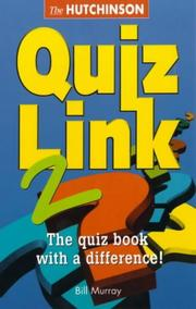 Cover of: Hutchinson quiz link by Bill Murray