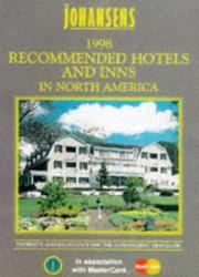 Cover of: Johansens 1998 Recommended Hotels and Inns | Johansens