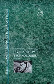 Cover of: Civil Aerospace Technologies - FITEC '98 (Imeche Event Publications) | IMechE (Institution of Mechanical Engineers)