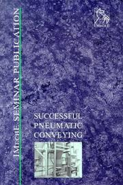 Cover of: Successful Pneumatic Conveying | IMechE (Institution of Mechanical Engineers)