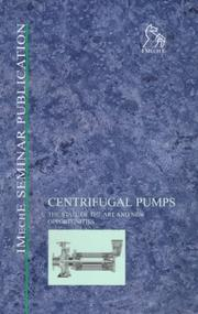 Cover of: Centrifugal Pumps | IMechE (Institution of Mechanical Engineers)