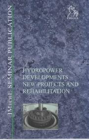 Cover of: Hydropower Developments | IMechE (Institution of Mechanical Engineers)