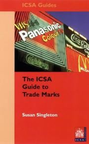 Cover of: The Icsa Guide to Trademarks | Susan Singleton