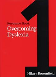 Cover of: Overcoming dyslexia | Hilary Broomfield