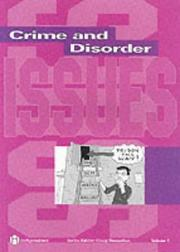 Cover of: Crime and Disorder | Craig Donnellan