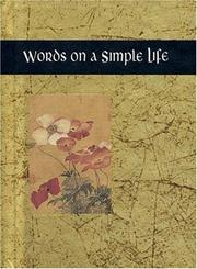 Cover of: Words on a Simple Life (Words for Life) by Helen Exley
