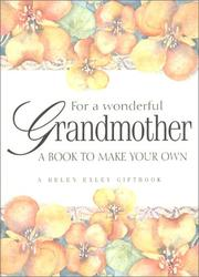 Cover of: For a Wonderful Grandmother | Helen Exley