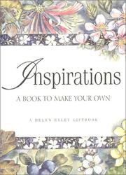 Cover of: Inspirations A Book to Make Your Own (Helen Exley Journal) | Helen Exley