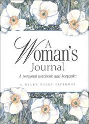 Cover of: A Woman's Journal | Helen Exley