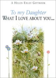 Cover of: To My Daughter | Helen Exley