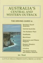 Cover of: Australia's Central and Western Outback | Ian Read