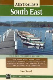 Cover of: Australia's South East (Eco-touring Guides) | Ian Read