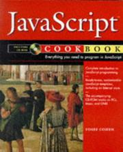Cover of: JavaScript cookbook | Yosef Cohen
