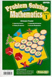 Cover of: Problem Solving with Mathematics | Ric Publications