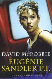 Cover of: Eugenie Sandler P.I by David McRobbie