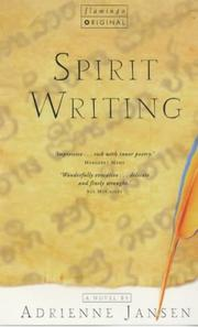 Cover of: Spirit Writing by Adrienne Jansen