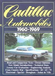 Cover of: Cadillac Automobiles 1960-1969 | R.M. Clarke
