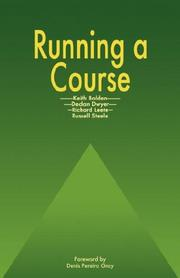 Cover of: Running a Course by Bolden