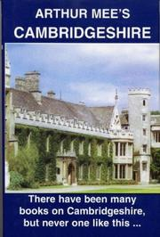 Cover of: Cambridgeshire (King's England) | Mee, Arthur