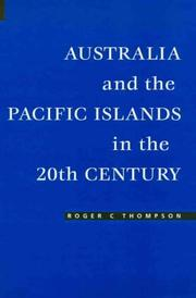 Cover of: Australia and the Pacific Islands in the 20th Century by Roger C. Thompson