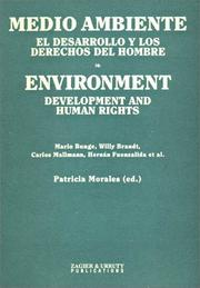 Cover of: Medio Ambiente / Environment | Patricia Morales
