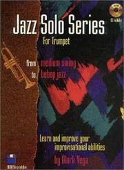 Cover of: Jazz Solo Series for Trumpet (Book/Audio CD) | Mark Vega