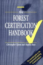 Cover of: The Forest Certification Handbook | Kogan Page Ltd.