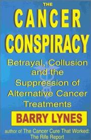 Cover of: The Cancer Conspiracy | Barry Lynes