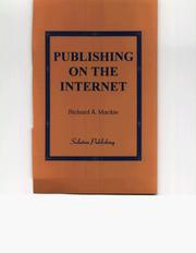 Cover of: Publishing On The Internet | Richard MacKie