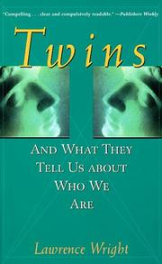 Cover of: Twins | Lawrence Wright