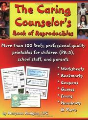 Cover of: The Caring Counselor's Book of Reproducibles | Maryann Hudgins