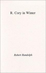 Cover of: R. Cory in Winter | Robert Randolph