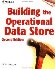 Cover of: Building the Operational Data Store by William H. Inmon
