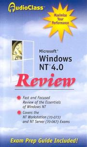 Cover of: Microsoft Windows NT 4.0 Review | Steven Tate