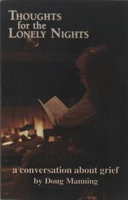 Cover of: Thoughts for the Lonely Nights | Doug W. Manning