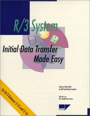 Cover of: Initial Data Transfer Made Easy, Release 3.1 G/H | SAP Labs Inc. R/3 Simplification Group