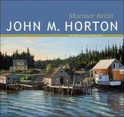 Cover of: John M. Horton | Peter Vassilopoulos
