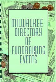 Cover of: Milwaukee Directory of Fundraising Guide | Mary Haegele